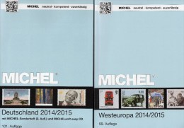 West-Europa Catalogue Part 6+Germany MICHEL 2014 New 110€ EU Stamp D AD DR Saar B DDR BRD B Eire GB UK Jersey Man Lux NL - Chronicles & Annuals