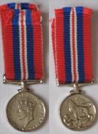 WW2, 1939-1945 WAR MEDAL, George VI, r�duction