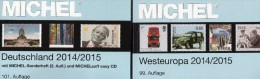 West-Europa Catalogue Part 6+Germany MICHEL 2014 New 110€ EU Stamp D AD DR Saar B DDR BRD B Eire GB UK Jersey Man Lux NL - Other Collections