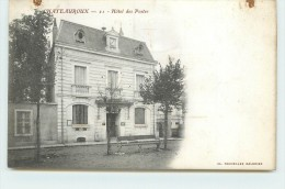 CHATEAUROUX  - Hôtel Des Postes.(carte Vendue En L'état) - Poste & Postini