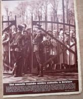 """magazine avec articles """"Catastrophe mini�re de Mariemont-Bascoup, Histoire charbonnages"""" 1950"""