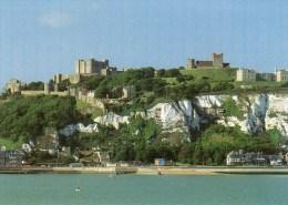 Postcard - Dover Castle, Church & Lighthouse, Kent. KA-12029X - Dover