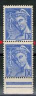 Paire N° 546**_1 Plus Grand Tenant Normal En Bord De Feuille_(v572) - Variétés: 1941-44 Neufs
