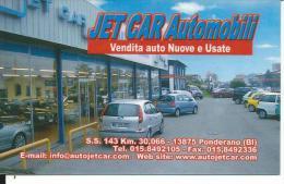 CAL691 - CALENDARIETTO 2006 - JET CAR AUTOMOBILI - PONDERANO (BI)