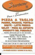 CAL694 - CALENDARIETTO 2006 - STARBENE PANETTERIE - CAMPI BISENZIO (FI)