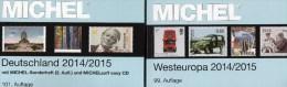 West-Europa Catalogue Part 6+Germany MICHEL 2014 New 110€ EU Stamp D AD DR Saar B DDR BRD B Eire GB UK Jersey Man Lux NL - Télécartes