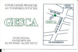 CAL695 - CALENDARIETTO 2006 - GESCA CONSULENZE AUTOMOBILISTICHE - CATANIA