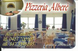 CAL696 - CALENDARIETTO 2006 - PIZZERIA ALBERE' DI TENNA (TN)