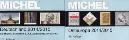 Ost-Europa Katalog Band 7+Deutschland MICHEL 2014 Neu 110€ D AD DR Saar Danzig B DDR BRD PL Russia USSR Moldawia Ukraine - Monete & Banconote
