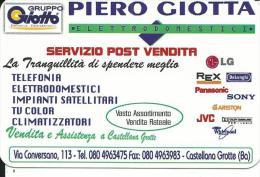 CAL701 - CALENDARIETTO 2006 - GRUPPO GIOTTO PIERO GIOTTA - CASTELLANA GROTTE (BA)