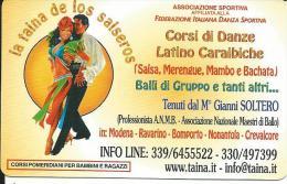 CAL702 - CALENDARIETTO 2006 - LA TAINA DE LOS SALSEROS - MODENA