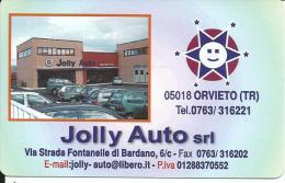 CAL706 - CALENDARIETTO 2006 - JOLLY AUTO -  ORVIETO