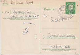 Bund Heuss Med P 37 PSt I Stempel Georgensgmünd ü Schwabach 1961 - BRD