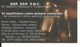 CAL712 - CALENDARIETTO 2006 - BAR SAM - PRATO