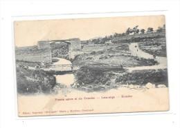 Puente Sobre El Rio Cutuche - Latacunga - ECUADOR - Ecuador