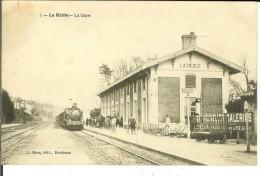 CPA LA REOLE  LA GARE 10974 - La Réole