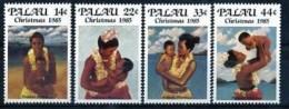 Palau 1985 Yvertn° 79-82 *** MNH Cote 25 FF Noel Christmas Kerstmis - Palau