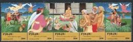 Palau 1991 Yvertn° 440-44 *** MNH Cote 5 Euro Noel Christmas Kerstmis - Palau