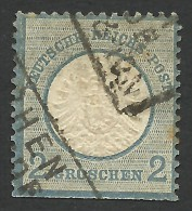Germany, 2 Gr. 1872, Sc # 18, Mi # 20, Used - Deutschland