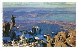 Hobart From Mount Wellington, 13.5.1965, Stamp - Hobart