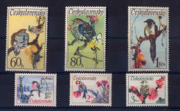 CZECHOSLOVAKIA 1972 Birds - Autres