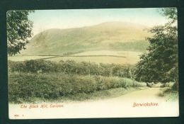 SCOTLAND  -  Earlston  The Black Hill  Used Postcard As Scans - Berwickshire