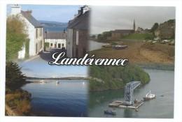 13971 - CP LANDEVENEC (FINISTERE) Cimetière Des Bateaux  Et Autres Vues - Landévennec