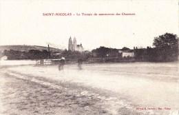 SAINT-NICOLAS - Le Terrain De Manoeuvres Des Chasseurs - Saint-Nicolas