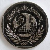 2 FRANCS  1998  REN� CASSIN  -  SPL (SPLENDIDE)      (793)