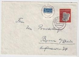 BRD, 1954, Portogerechte EF, Nr. 172, Mi. 60.-  , S181 - Briefe U. Dokumente