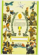 *CPM -Médaille Militaire - Patriotiques