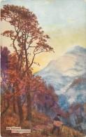 Pays Div- Royaume Uni - United Kingdom -ref D293 -raphael  Tuck S Postcard -oilette -dessin Illustrateur -the Crampians- - Tuck, Raphael