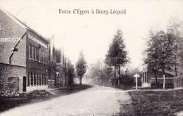 """BOURG-LEOPOLD  - Route D'Eppen - ( Avec Avant Plan """"Institut St Joseph ) - Leopoldsburg"""