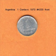 ARGENTINA   1  CENTAVO  1970  (KM # 64) - Argentina