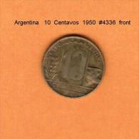 ARGENTINA   10  CENTAVOS  1950  (KM # 41) - Argentina