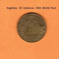 ARGENTINA   20  CENTAVOS  1950  (KM # 42) - Argentina