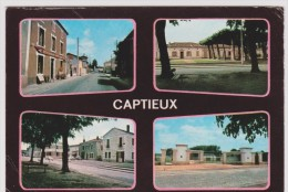 Gironde :  CAPTIEUX : Vue   1973 - France
