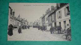 Mondoubleau - Rue Neuve-des-Fossés Et La Poste - France