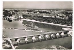 Auxonne : Le Pont De Chemin De Fer, Le Barrage - Auxonne
