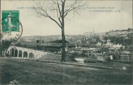 47 AGEN / Passerelle, Conseiller-Gauja En Construction Octobre 1912 / - Agen