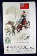 Great Britain: Postcard La Poste En Angletrre - Postwaardestukken
