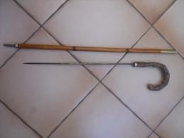 Canne épée  A Identifier - Knives/Swords