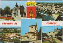 Gironde :  COUTRAS  : Vue - France