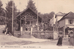 RIVES SOUS THONON GARE DU FUNICULAIRE(dil53) - Other Municipalities