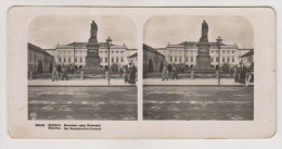 Warszawa.Graf Paskhevitz monument..Stereo photo.