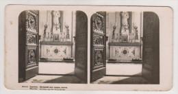 Warszawa.Plaace church interior.Stereo photo.