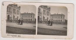 Brest-Litovsk.Railway station.Stereo photo.