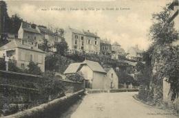 AVALLON ENTREE DE LA VILLE PAR LA ROUTE DE LORMES - Avallon
