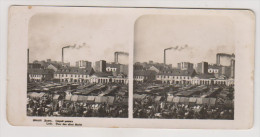 Lodz.Old market.Stereo photo.