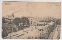 Warszawa.Jerusalem street